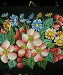 vintage floral dress bag